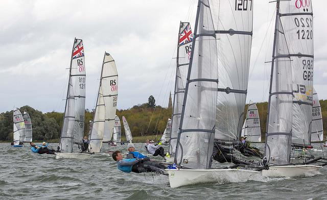 Chris Rashley and Dylan Fletcher win the RS800 Inlands at Grafham Water - photo © Tim Olin / www.olinphoto.co.uk
