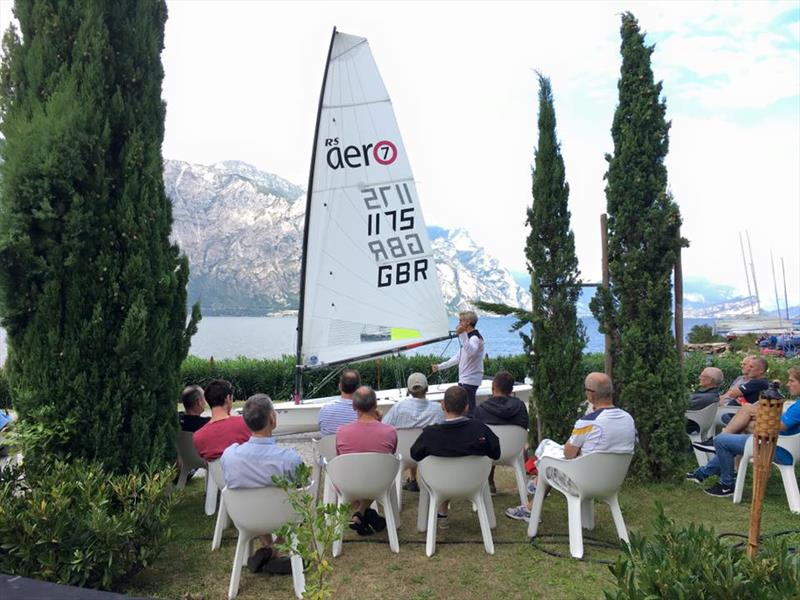International RS Aero coaching at the Lake Garda RS Aerocup in September - photo © Fraglia Vela Malcesine