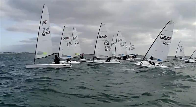 RS Aero Winter Training at Hayling Island - photo © LW Media