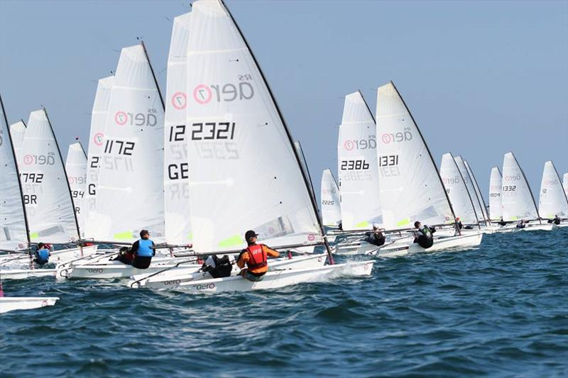 Magic Marine RS Aero UK Nationals at Hayling Island - photo © Steve Greenwood