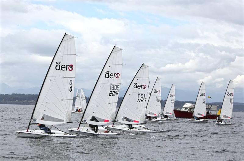 RS Aeros at the Puget Sound Sailing Championship - photo © Jan Anderson
