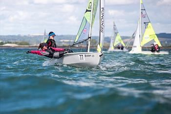 Will Taylor & Fiona Mulcahy win the Volvo RS Feva GP at Hayling