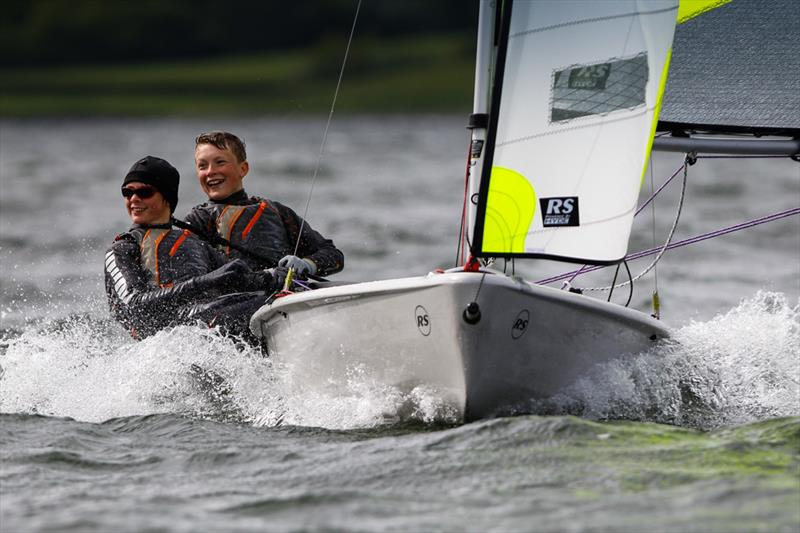 Ian Bird and Jake Hardman,Feva at the 2014 RYA Eric Twiname Championships - photo © Paul Wyeth / RYA