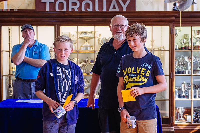 Rory Odell & Josh Bonsey winthe Volvo RS Feva Grand Prix at Torquay - photo © Martin Allen / Volvo Cars UK
