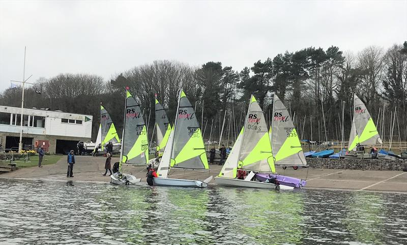 RS Feva South West Open Training at Chew Valley Lake - photo © James Dowrick