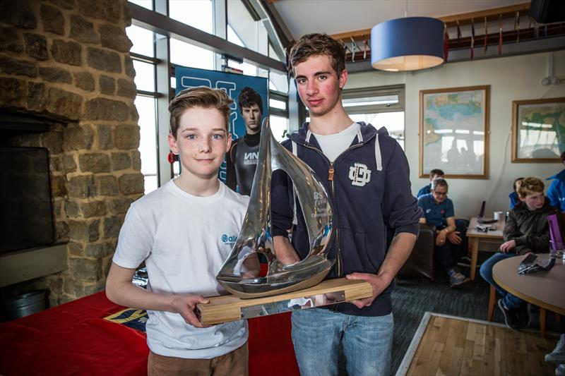 Dylan McPherson & Dylan Collingbourne win the Lennon Racewear RS Feva Spring Championship at Hayling Island - photo © Toby Adamson / Adamson Visuals