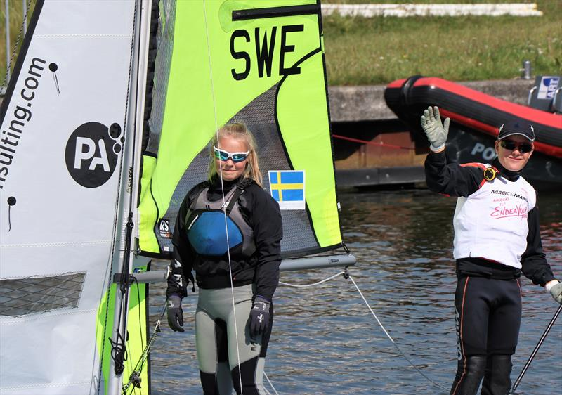 All set for the Allen & PA Consulting RS Feva Worlds in Medemblik - photo © Jon Partridge / RS Sailing