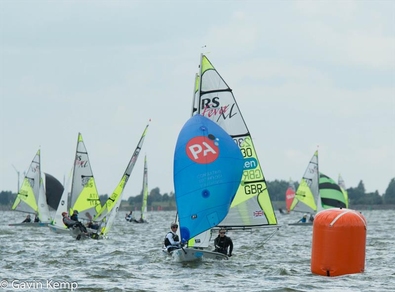 Allen & PA Consulting RS Feva Worlds day 1 - photo © Gavin Kemp