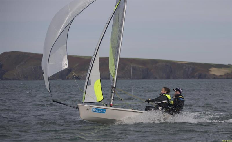 Josh Manning & Lucy Hughes during the RYA Welsh Zone Championships - photo © RYA Cymru Wales