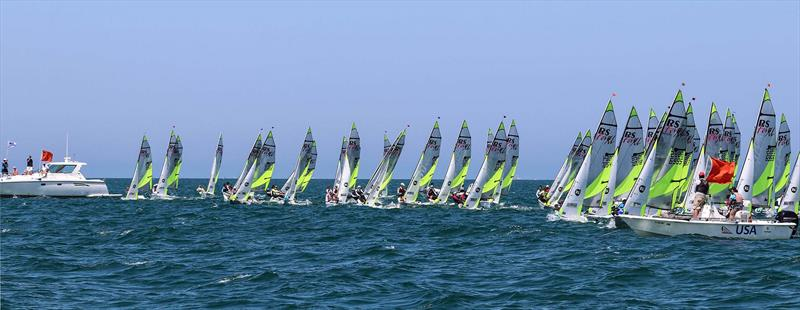 RS Feva World Championship 2018 day 1 - photo © RS Sailing
