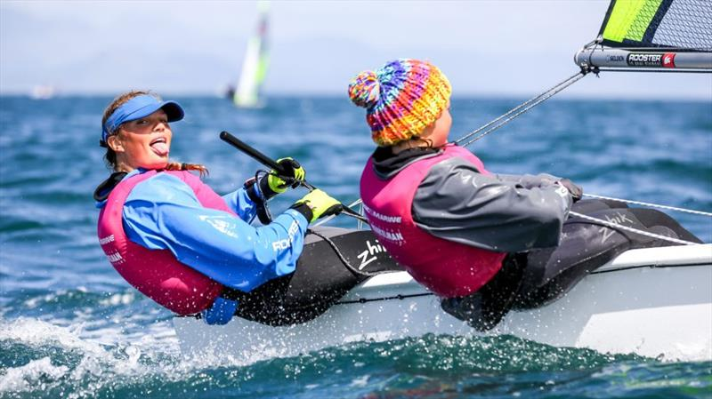 2019 RS Feva Nationals in Abersoch - photo © Digital Sailing