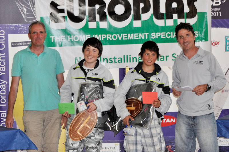 Morgan Peach and Herbie Harford win the RS Feva open at Torquay (with Class ...