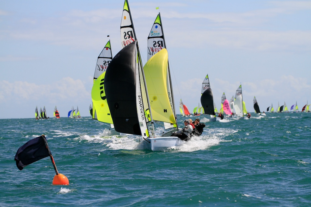 A cracking year is in store for the RS Fevas photo copyright Richard Gibbons taken at Hayling Island Sailing Club and featuring the RS Feva class
