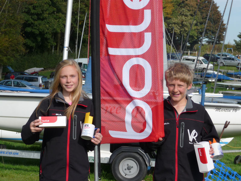 Bolle RS Feva Grand Prix at Northampton winners