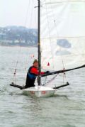 Light winds for the Brass Monkey Race at Leigh-on-Sea Sailing Club