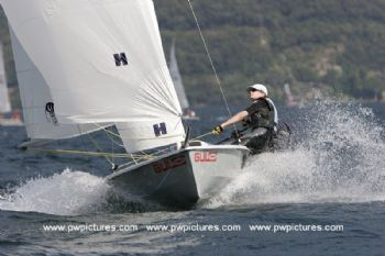 Action from the Fat Face RS200 Eurocup at Riva del Garda