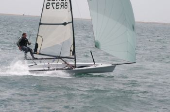 David Gorringe during the RS Racing Circuit event in Lymington