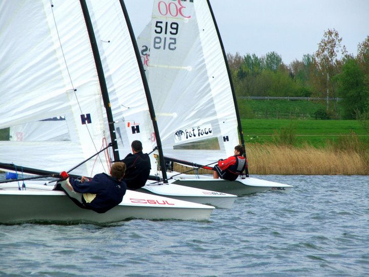 16 entries for the RS300 open at Milton Keynes photo copyright Mark Warren taken at Milton Keynes Sailing Club and featuring the RS300 class