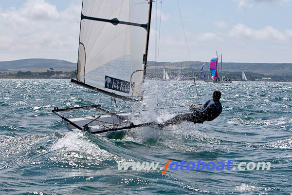 Racing during the RS Racing Circuit event in Lymington