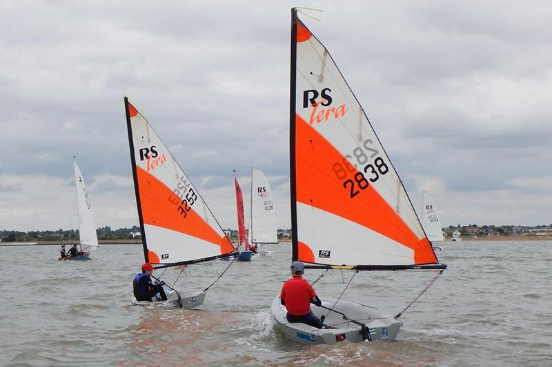 RS Teras on day 2 at Learning & Skills Solutions Pyefleet Week - photo © David Charlton