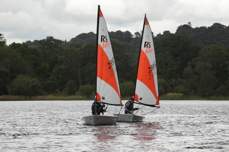 The One Bassenthwaite Lake Sailing Week during weekday racing - photo © John Spittle