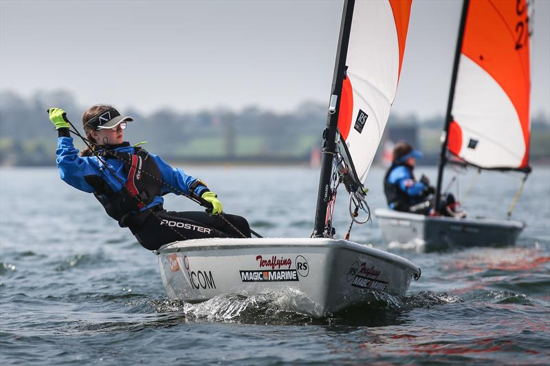 Alice Davis win the Sport fleet in the Rooster RS Tera Start of Seasons at Northampton - photo © Giles Smith & Emma Somerville