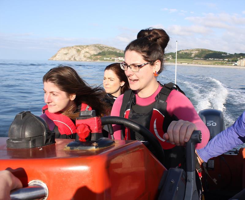 North Wales Only Girls Afloat scheme - photo © Seren Radley