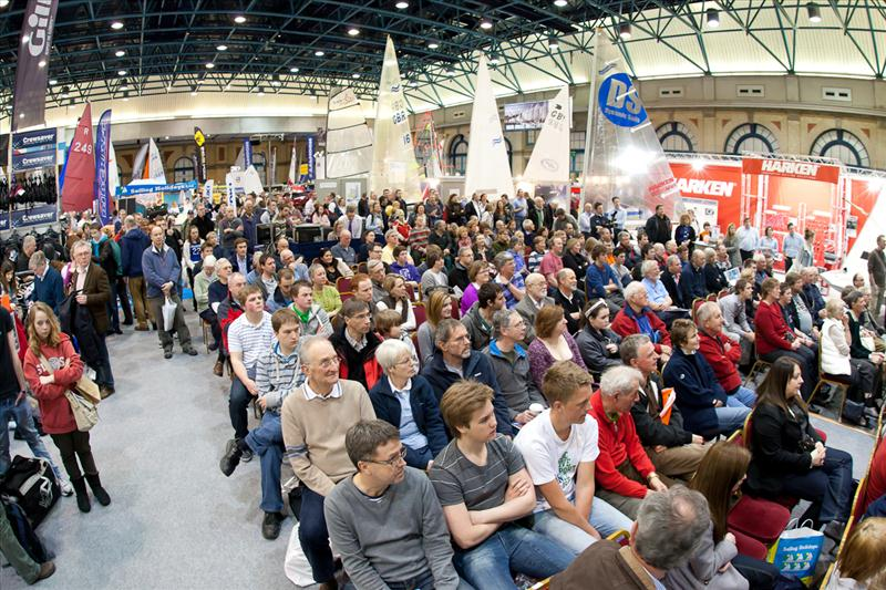 RYA Volvo Dinghy Show 2011 photo copyright RYA taken at  and featuring the  class