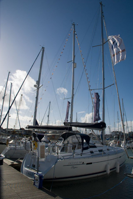Sailtime gosport marks launch with new b n teau oc anis 323 - Advantages disadvantage buying replica nautical globe bar ...