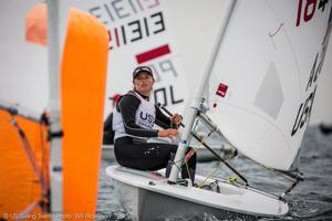 Erika Reineke, Laser Radial, US Sailing Team. - 2017 Enoshima Olympic Week - photo © Will Ricketson / US Sailing