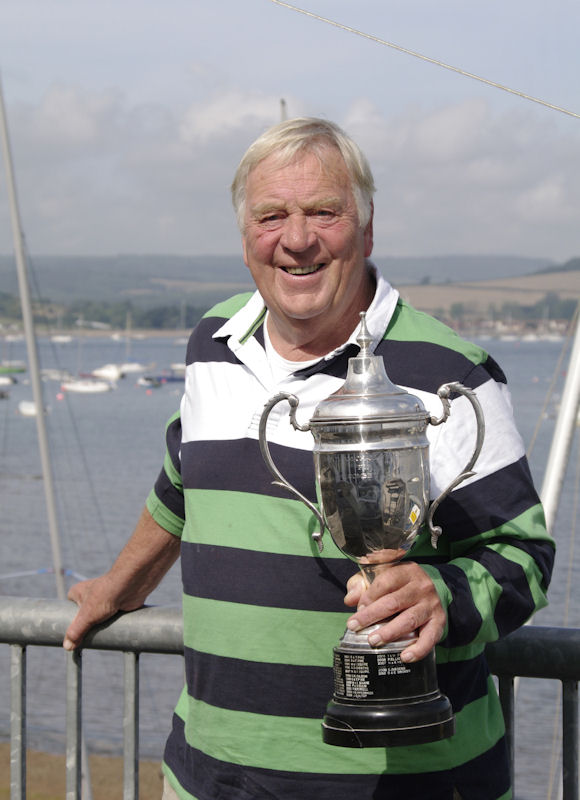 Spud Rowsell wins Salcombe Regatta photo copyright Mike Rice / www.fotoboat.com taken at Exe Sailing Club and featuring the Salcombe Yawl class