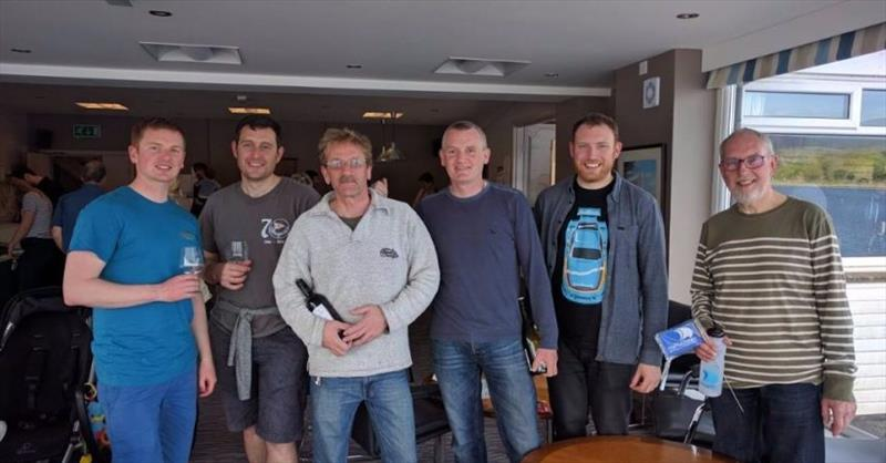 Prize winners at the Hollingworth Lake Scorpion Open - photo © Chris Massey