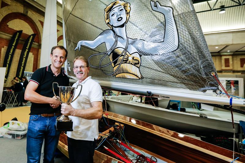 The Scorpion Tallulah wins the Concours d'Elegance at the RYA Dinghy Show 2020 - photo © Paul Wyeth / RYA