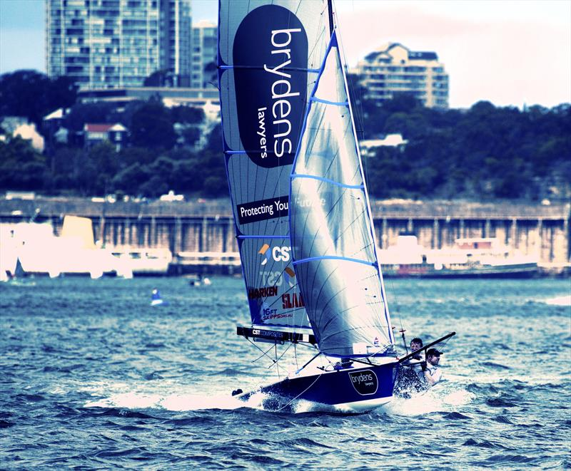 16ft Skiff Upper Harbour Championship at Drummoyne Sailing Club ...