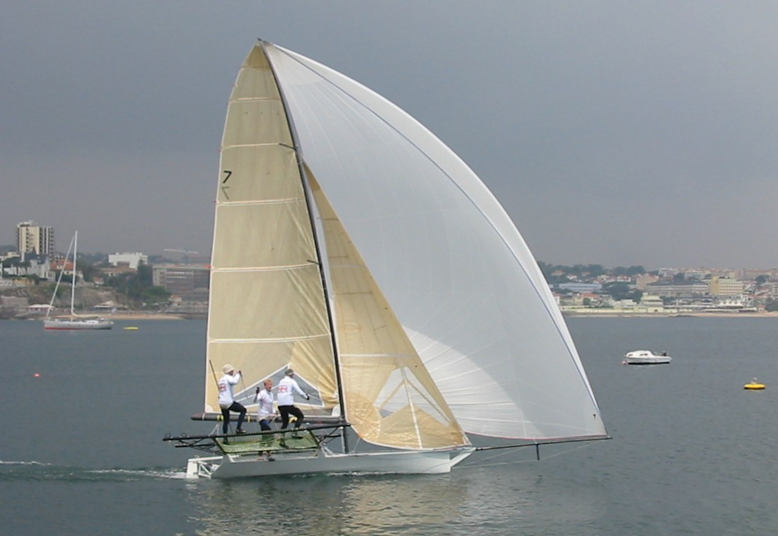 18ft Skiff European Circuit at Cascais, Portugal - Day 2 - Yachts and