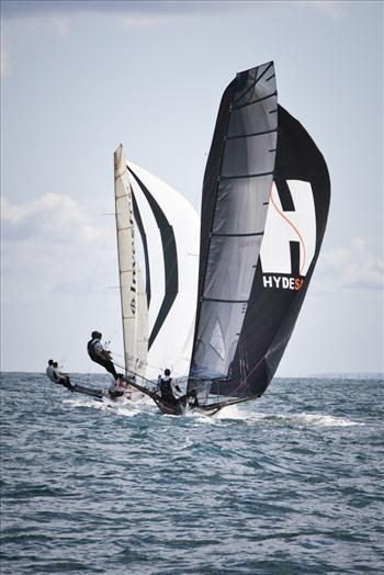 18ft skiff UK nationals day 2