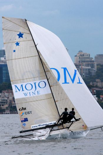 Mojo Wine finishes second in race 1 of the 63rd JJ Giltinan Championship
