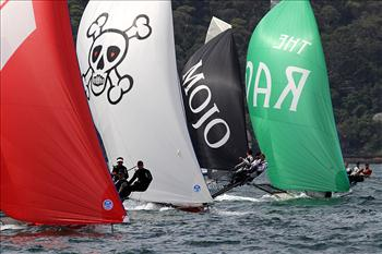 NSW 18ft Skiff Championship race 2