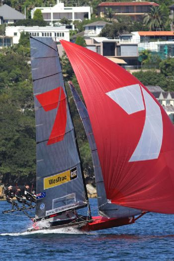 Gotta Love It 7, a winner all the way in race 3 of the 64th JJ Giltinan Championship