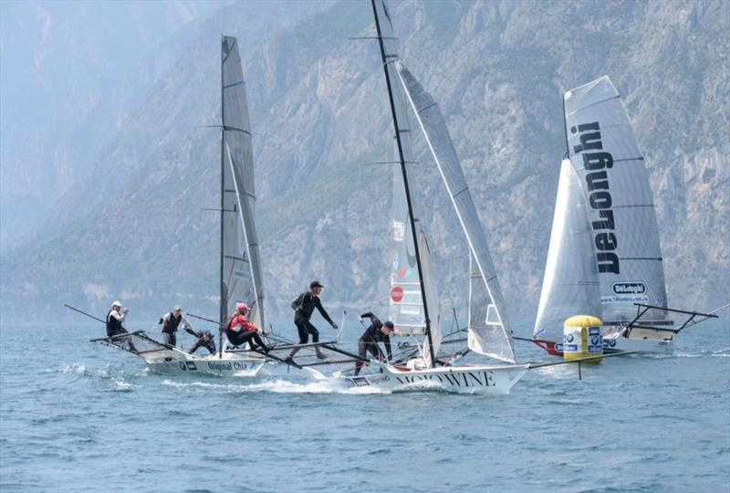Final day of the 18ft Skiff Mark Foy on Lake Garda - photo © Martin Ruegg
