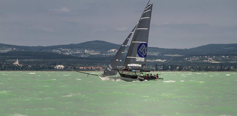 18ft Skiff European Grand Prix Round 2 at Lake Balaton, Hungary - photo © András Horányi-Névy