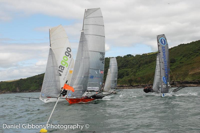 18ft Skiff UK Nationals at Plymouth day 2 photo copyright Daniel Gibbons taken at Mount Batten Centre for Watersports and featuring the 18ft Skiff class