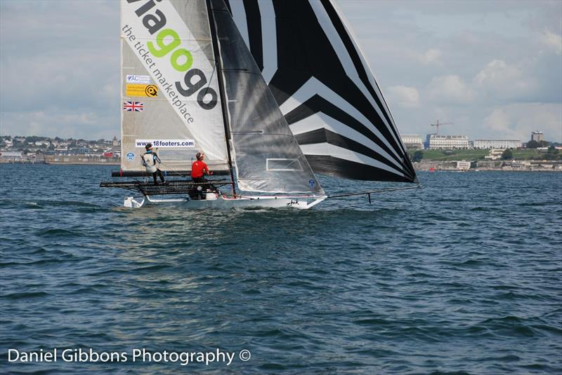 18ft Skiff UK Nationals at Plymouth day 3 - photo © Daniel Gibbons