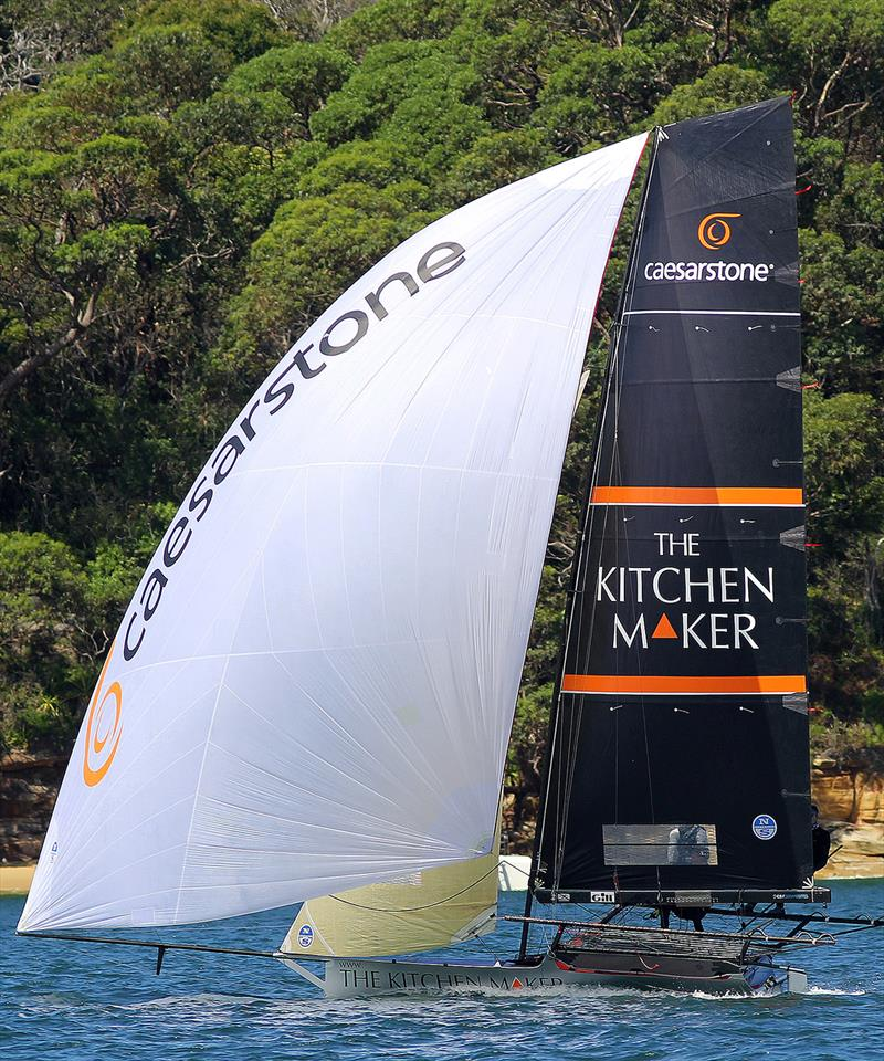 Another solid performance by The Kitchen Maker - 18ft Skiffs: Australian Championship 2018 - photo © Frank Quealey