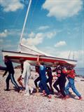 The Dutch way to get up the Pevensey shingle © Bill Loy Snr