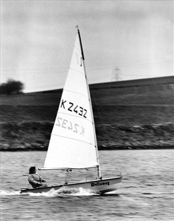Chris Gillard racing the Solo in the 1970s