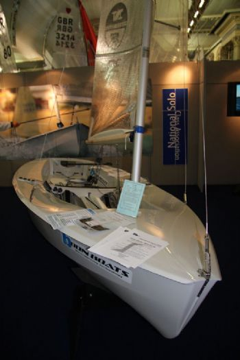 The Solo stand at the 2012 RYA Dinghy Show