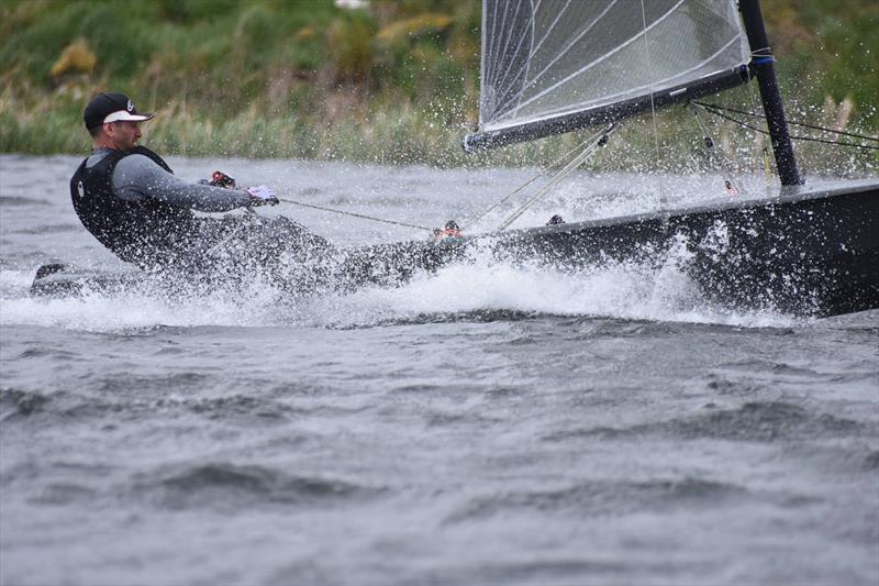 Lee Tennant during the Solo Open at West Riding Sailing Club - photo © Alasdair McQuire