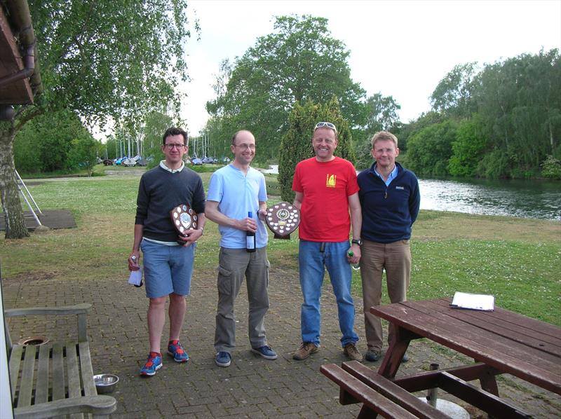 Solos at Fishers Green (l-r) Paul Rayson, Alan Bishop, Steve Ede, Tim Lewis - photo © Godfrey Clark