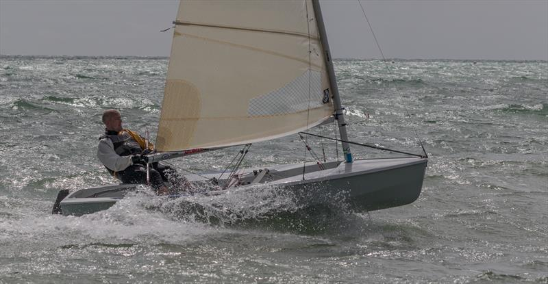 Downwind fun during the Solo Southern Area Championship at Felpham - photo © Bill Brooks